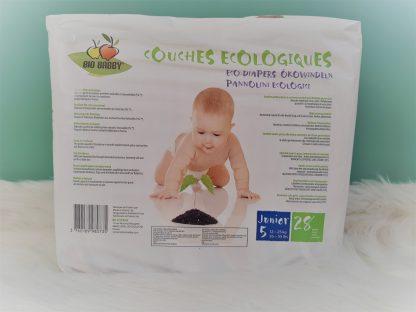 Couches écologiques Bio Babby junior verso